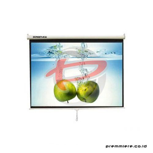 "Screen Projector Manual Wall Screen 50"" [MWSSV1212L]"